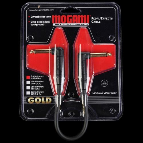 Mogami Gold Instrument Cable (10inch)