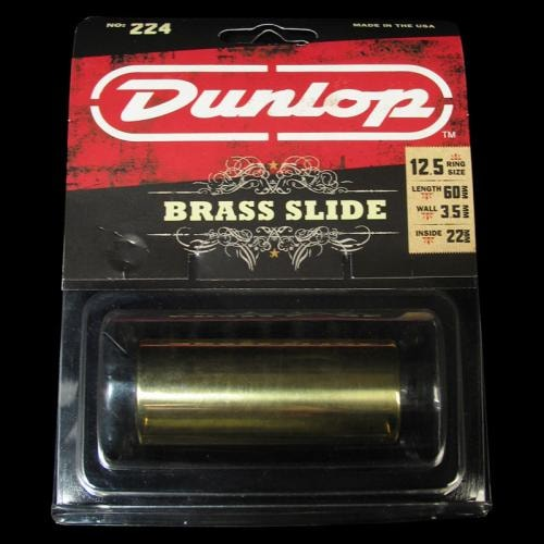 Dunlop 224 Heavy Wall Brass Guitar Slide (Medium)