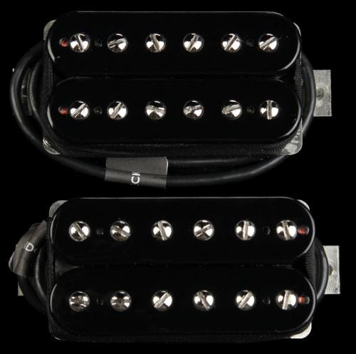 Bare Knuckle Juggernaut Humbucker Pickup Set Black Open Coil