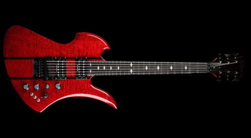 BC Rich B.C. Rich Mockingbird ST Electric Guitar ...