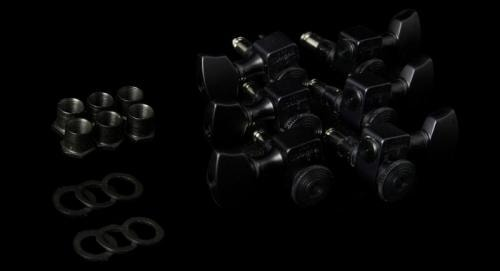 Sperzel 3 Per Side Locking Guitar Tuners (Black)