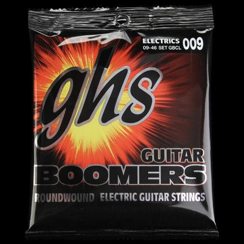 GHS Boomers Electric Strings (Custom Light) (9-46)