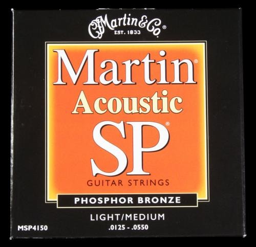 Martin Studio Performance Acoustic Guitar String Set Light/Medium .0125 - .055