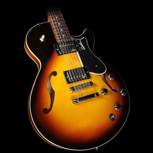 Godin Montreal Premiere TriplePlay Semi-Hollow Electric Guitar Sunburst