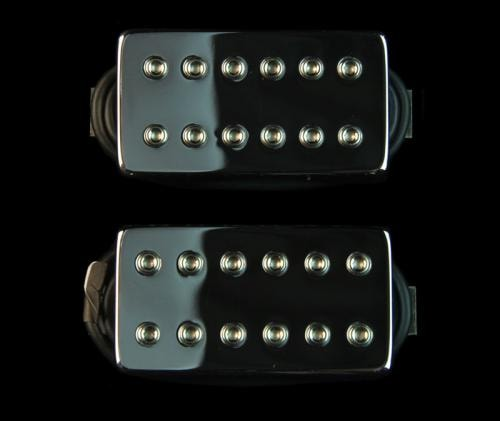 Bare Knuckle Aftermath Humbucker Pickup Set (53mm Chrome)