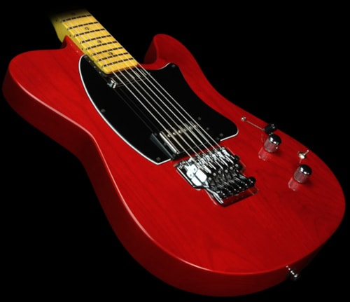 buzz feiten t electric guitar candy apple red candy apple red guitars electric solid body. Black Bedroom Furniture Sets. Home Design Ideas