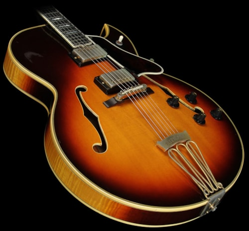 gibson 1965 gibson byrdland electric guitar vintage sunburst vintage sunburst guitars hollow. Black Bedroom Furniture Sets. Home Design Ideas