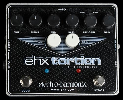 Electro-Harmonix EHX Tortion Overdrive Effect Pedal