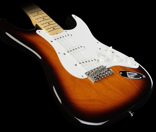 Fender® Used 2014 Fender® American Vintage 1954 Stratocaster® Electric Guitar Two-Tone Sunburst