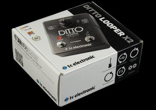 TC Electronic s Ditto X2 Looper Effects Pedal