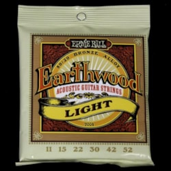 ERNIE BALL MUSIC MAN Ernie Ball Earthwood Light Acoustic Guitar Strings11-52