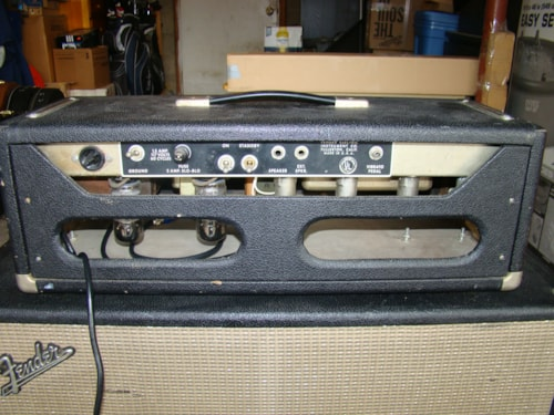 1965 Fender® Bandmaster Amp NO SPEAKERS IN CAB!!