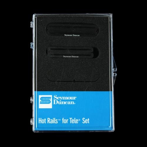 Seymour Duncan Hot Rails for Tele Pickup Set (Black)