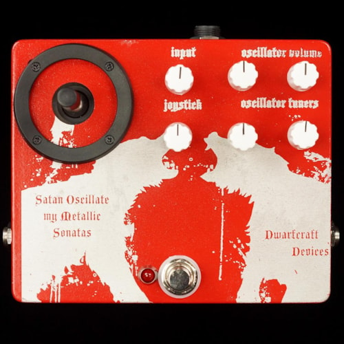 Dwarfcraft Devices CUSTOM ENCLOSURE Satan Oscillate My Metallic Sonatas SOMMS