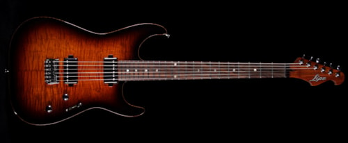 Lipe Virtuoso Electric Guitar Tobacco Sunburst
