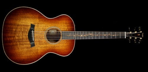 Taylor Used 2015 Taylor K24e Koa Grand Auditorium Acoustic/Electric Guitar Natural