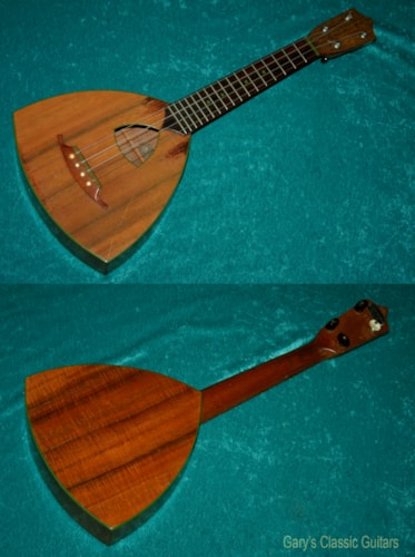 "1930 Washburn ""Lyon & Healy"" Shrine Ukulele (#WAS0001)"