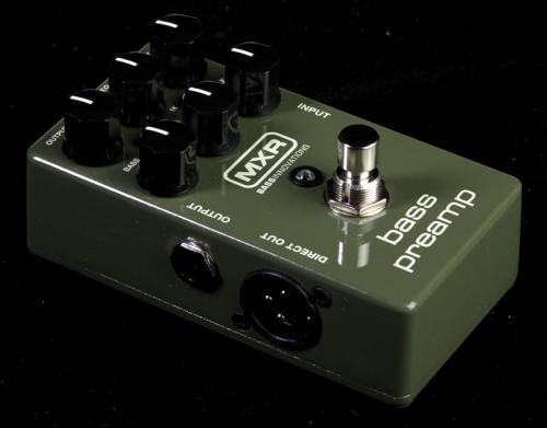 MXR M81 Electric Bass Preamp Pedal