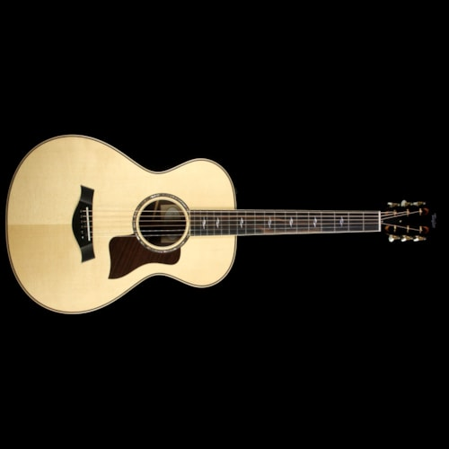 Taylor Used Taylor 812e 12-Fret Grand Concert Acoustic/Electric Guitar Natural