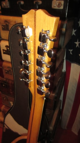1968 Kent Model 820 12 String Electric Red > Guitars 12 String Electric & Acoustic   Rivington ...