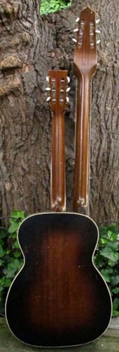 ~1938 Regal R90 Archtop Harp Guitar