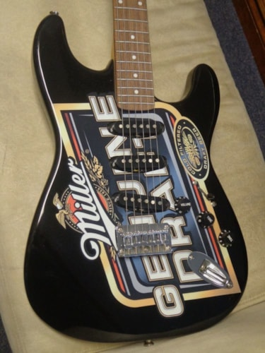 "2005 Squier® By Fender® ""Miller Genuine Draft"" Limited Edition"