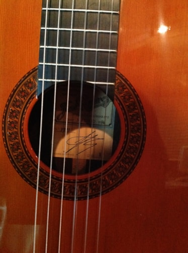 1974 Ramirez 1a Cedar and Brazilian Rosewood