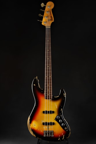 Fender Custom Shop Jaco Pastorius Tribute Jazz Bass - Three Color S