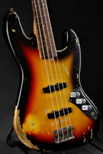 Fender® Custom Shop Jaco Pastorius Tribute Jazz Bass® - Three Color S
