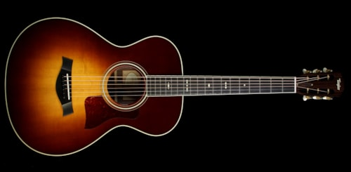 Taylor Used 2016 Taylor 712 Grand Concert 12-Fret Acoustic Guitar Tobacco Sunburst