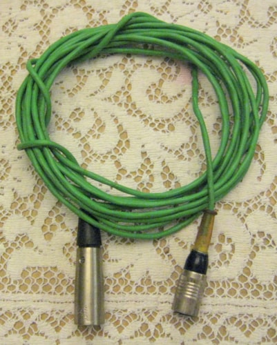 Shure EV AKG Turner etc Vintage Mic Cable & Connector