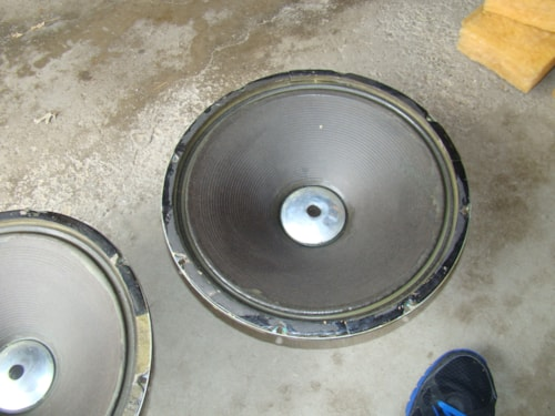 "1970 Eminence 15"" Bass Speakers -$40 Each"