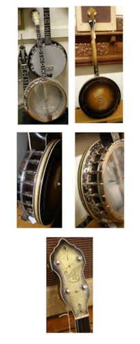 ~1934 Bacon KINGSTON Tenor Banjo