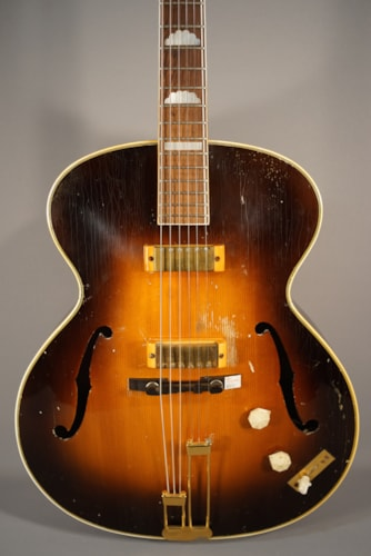 1951 Epiphone USED! 1951 Epiphone Zephyr Deluxe with a sunburst finish and