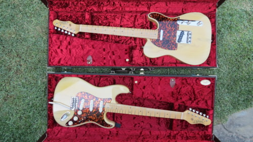 2010 Detemple Twins Tele® and Strat®