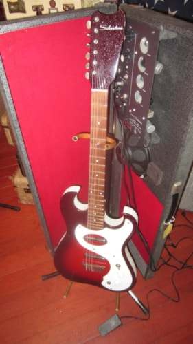 ~1965 Silvertone Model 1457 Amp in Case