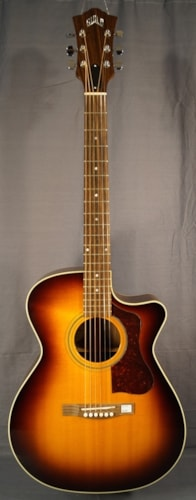 Guild® Guitars New! Guild® F-30RCE STD Acoustic Guitar! With Case.
