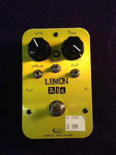 "Rocket Pedals New! ""Lemon Aid"" by Rocket Pedal"
