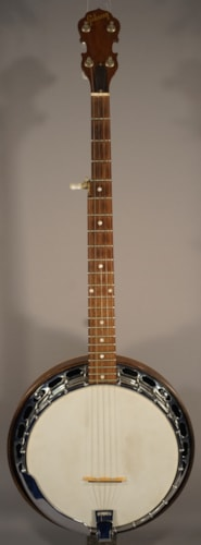 Gibson Guitars Used! Early 70's Vintage Gibson RB-100 Banjo With Case!