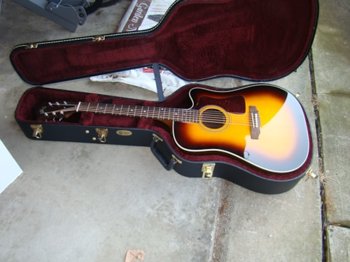 2012 Guild® D50CE with Detar, Sitka Spruce (New Old Stock)
