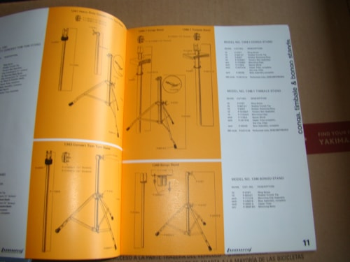 Ludwig Replacement Parts Catalog