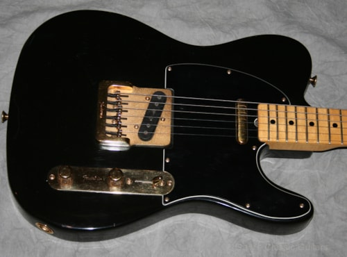 1981 Fender® Telecaster® Black & Gold limited edition (#FEE0790)