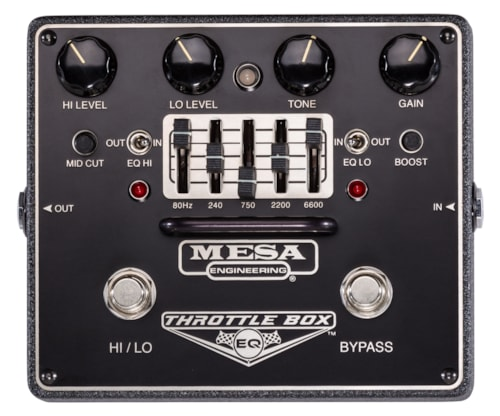 Mesa Boogie Throttle Box EQ Dual Mode Distortion