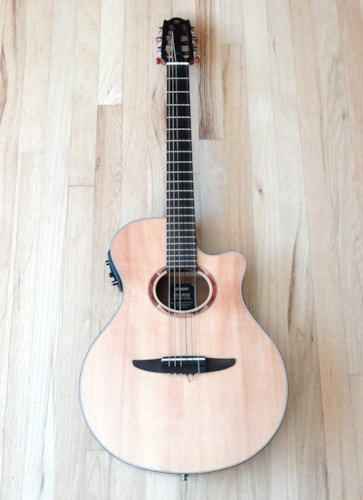 Yamaha NTX700 Nylon String Classical Guitar w/ Preamp & Pickup ...