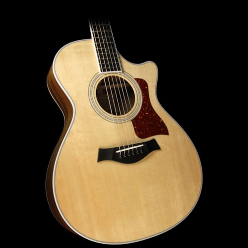 Taylor 412ce Grand Concert Acoustic/Electric Guitar Natural