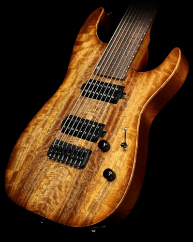 Lipe Virtuoso Mango-Top 8-String Electric Guitar Natural