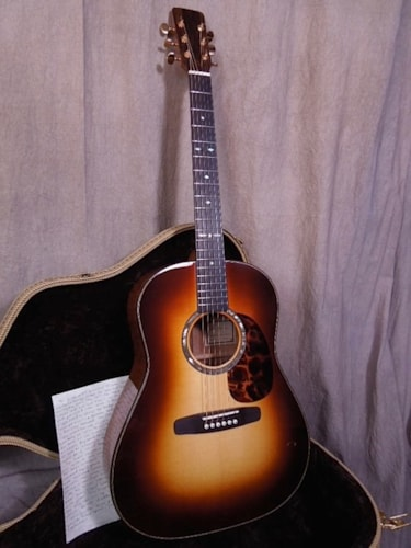 "2014 Don Musser ""SJ"" Slope Shoulder style dreadnought"