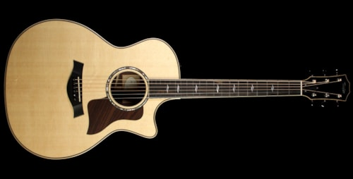 Taylor 814ce Grand Auditorium Acoustic/Electric Guitar Natural