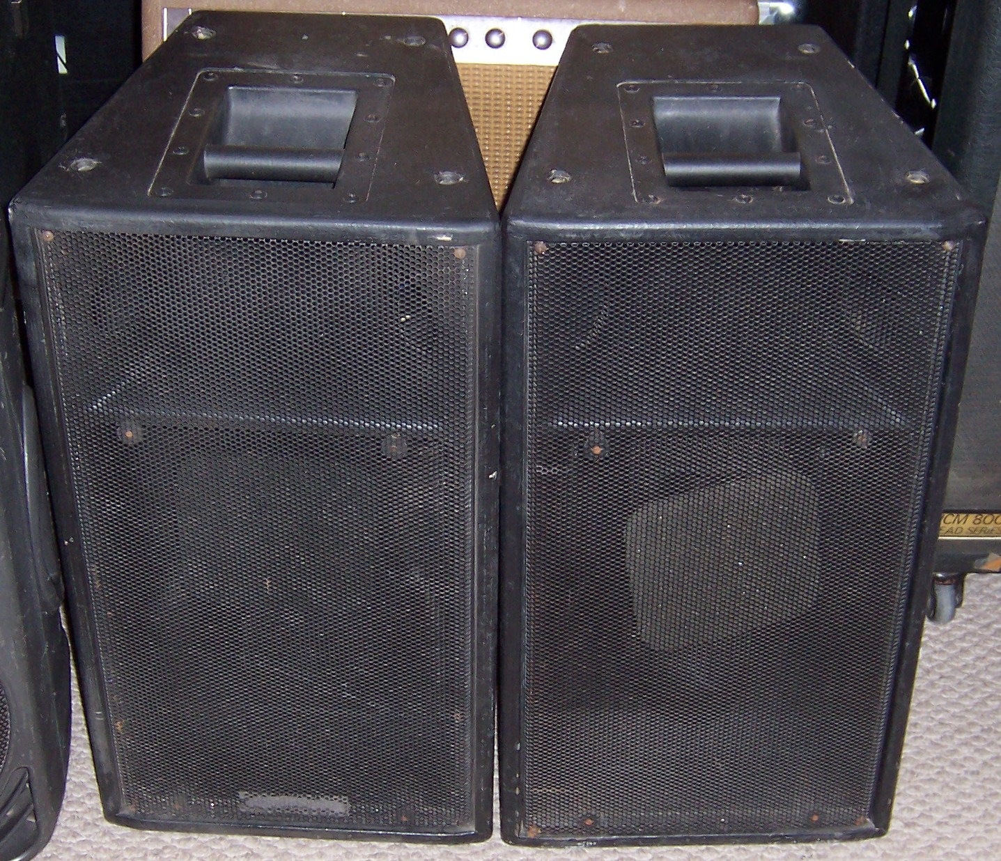 Find Used Seismic Audio Pair Speaker Cabinet Cabinets Shop Every Loudspeaker Thump Eliminator Community Sls 920 P A Sound Reinforcement Axeshop Inc