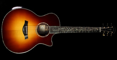 Taylor Presentation Series PS14ce Grand Auditorium Cutaway Milagro Brazilian Rosewood Acoustic/Electric Guitar Sunburst